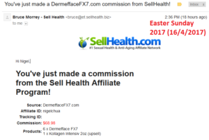 20170416 SellHealth Affiliate Commission