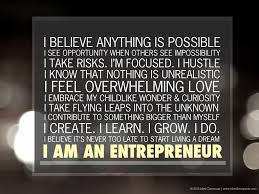 Entrepreneurship Way Of Life