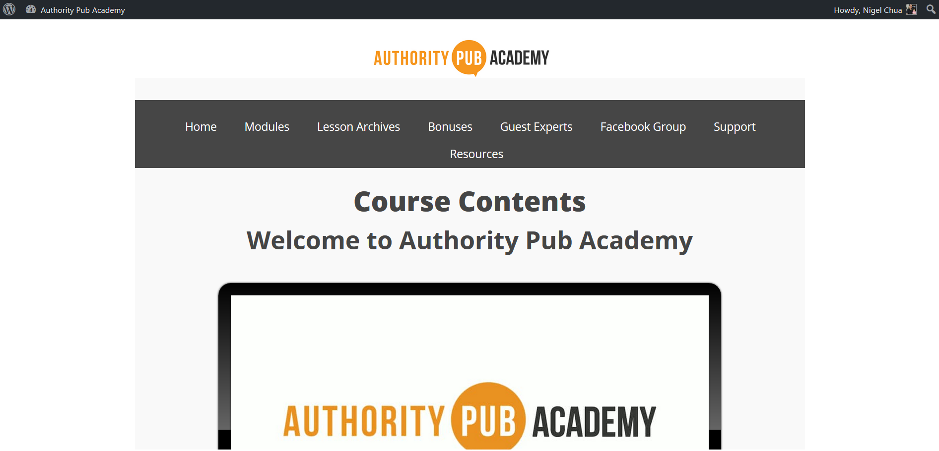 joined authority publishing academy