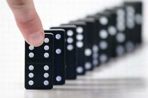 lead domino effect