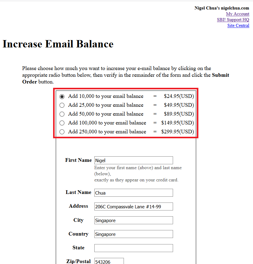 newsletters price per email