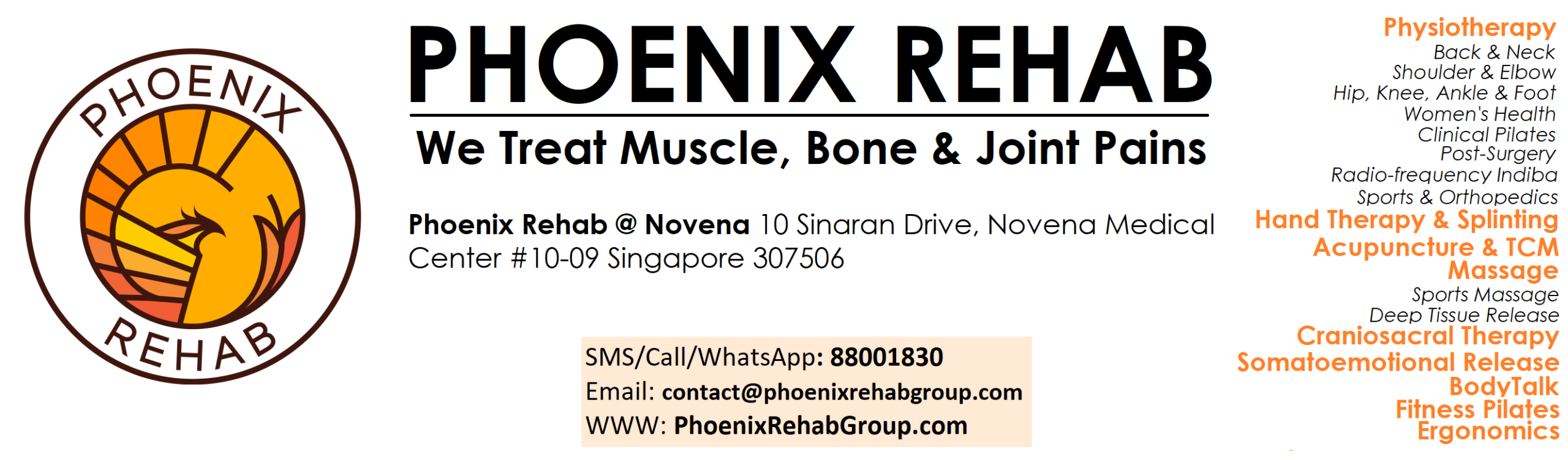 phoenix rehab website header