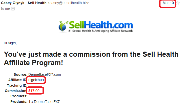 sellhealth 2016 march