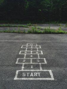 start starting over